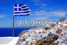 Greece was amazing. Want to go again. …