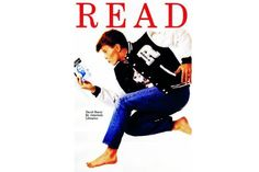David Bowie's 1987 READ poster reissued in his honor. Grab it while you can!
