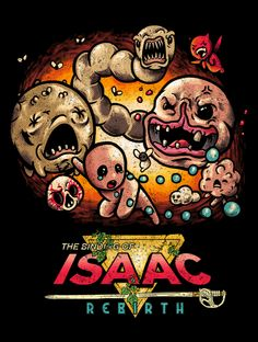 The Binding of Isaac: Rebirth Fan Art by Adam Rufino