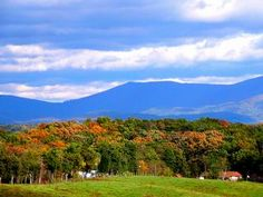 Shenandoah Valley in the Fall - Virginia