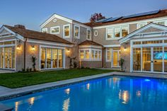 Custom Home Photo Gallery :: Grady O Grady Custom Green Luxury Homes in Southern California Home Photo, Pool Houses, Dream Houses, Southern California, Custom Homes, Retirement, Interior And Exterior, Luxury Homes, Beach House