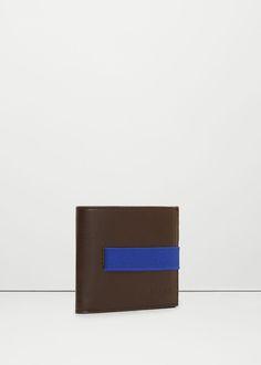 Billetera cierre elástico, Mango 15,99€, si hay algo parecido en negro/gris mejor, si no algo como esto.