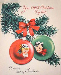 Couple ornaments