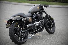 Harley Davidson Sportster Cafe Racer › Roland Sands Cafe Racers Sportster Iron Modification