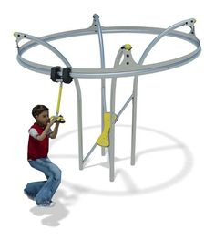 Stainless Steel playground equipment - Air Glider