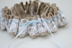 Pretty Lace Wedding Garter.