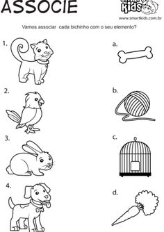 Animal Day Activities 4 de O Animal Worksheets, Printable Preschool Worksheets, Kindergarten Math Worksheets, Worksheets For Kids, Nursery Activities, Animal Activities, Preschool Learning Activities, Preschool Activities, Teaching Aids