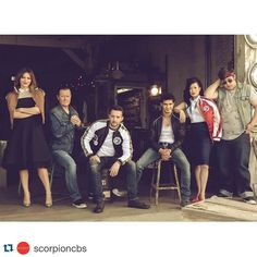#Repost @scorpioncbs Hey #TeamScorpion check out the cast in the latest issue of #Emmy Magazine. #PureGenius by superdramatv