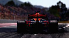 2017 Spanish GP - Daniel Ricciardo (Red Bull) [2048x1152]