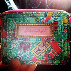Lilly makeup bag.