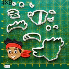 Jake And The Neverland Cookie Cutter.