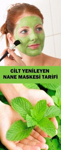 Cilt Yenileyen Nane Maskesi Tarifi - Skin Renewal Mint Mask Recipe - the Mask For Dry Skin, Skin Mask, Album Design, Henna, Spring Tutorial, Mask Korean, Best Natural Skin Care, Mask Girl, Peppermint