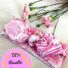 DIY: Rusettipipo - Punatukka ja kaksi karhua Diy Baby Headbands, Sewing Clothes, Baby Hats, Sewing Crafts, Knots, Diy And Crafts, Kids Outfits, Barbie, Knitting