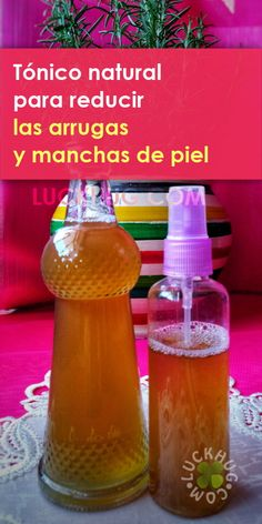 #comohacer un #tonicofacial completamente #natural para el #rostro para #reducir las #arrugas y #manchasdepiel Face Wrinkles, Natural Home Remedies, Health And Beauty, Beauty Hacks, Projects To Try, Hair Beauty, Personal Care, Skin Care, Homemade