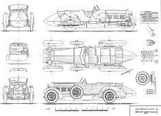 Hispano Suiza Tulipwood Roadster (1924)   SMCars.Net - Car Blueprints Forum
