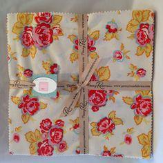 Milk Sugar & Flower 10 inch stacker layer by MeadowlarkGlenFabric