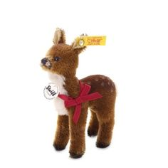 This little Steiff fawn joined our collection tonight. Isn't he adorable? #WilliamsSonoma