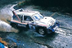 "birdsean: ""This was the last time the and any Group B rally car would compete in the WRC. Here is Jimmy McRae driving the car to place on the RAC Rally in November "" Lancia Delta S4, Rallye Automobile, Off Road Racing, Rally Car, Car And Driver, Car Humor, Wrx, Cars And Motorcycles, Peugeot"
