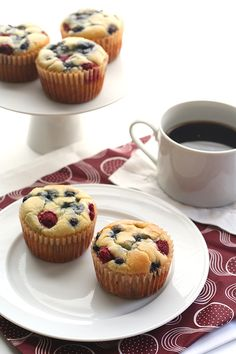 Easy Grain-free Sugar-Free Pancake Muffin Recipe