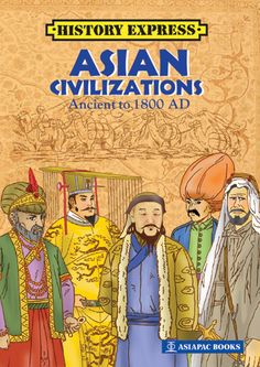 Let's take a journey through time and space to the five Asian regions and discover the great conquerors of the ancient land. #AsiapacBooks #History