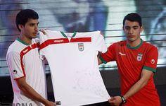 Iran 2014 World Cup Kits