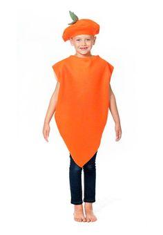 Childrens Carrot Costume  sc 1 st  Pinterest & The 278 best Girls Costumes images on Pinterest | Female costumes ...