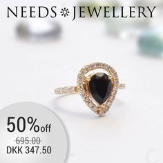 SAVE 347, - kr on this ring. Huge offer. ONLY this week. 50% on the whole SWING series. Set of earrings, necklace and ring. #ring #RINGE #bracelets #ARMBÅND #necklaces #HALSKÆDER #gemstone #zircon #sparkly #darksilver #sterling #silver #needs #jewellery #NEEDSJEWELLERY