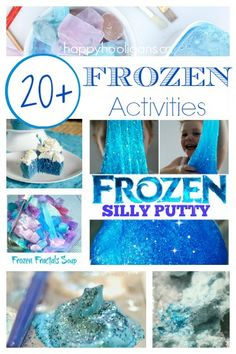 20+ Frozen Activities & Recipes {for Anna and Elsa Fans} via Happy Hooligans