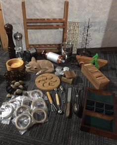 Curious about Curiosity: Ditch the Plastic and Value the Vintage! How Does Learning Happen, Curiosity Approach, Suitcase Table, Wooden Numbers, Vintage Tools, Wooden Bowls, Learning Environments, Consumerism, Early Learning