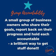 Group Accountability at Karen - Your Business Mentor works with Cheshire female small business owners to get them organised, on track and get stuff done! Karen Taylor, Give It To Me, How To Get, Branding Ideas, Growing Your Business, Getting Things Done, Business Women, Accounting, Encouragement
