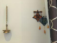 A Ganesha corner in the living room