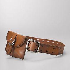 belt + fanny pack = amazing.