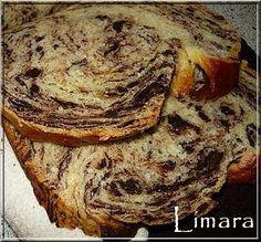 Limara péksége: Hajtogatott csokis hokkaido kalács Hungarian Recipes, Hungarian Food, Little Kitchen, Banana Bread, Cake Recipes, French Toast, Bakery, Lime, Cooking