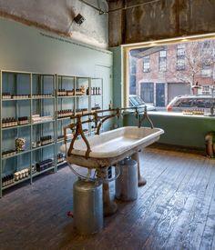 aesop-brooklyn-store-vintage-sinks-remodelista