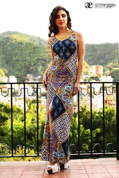 Coloridos y divinos así son los maxidresses que #Altereggo tiene para ti. #NuevaColeccion #Maxidress #Estampados