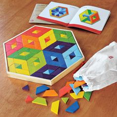 Mosaic Puzzle is a creative way to help young minds take shape.