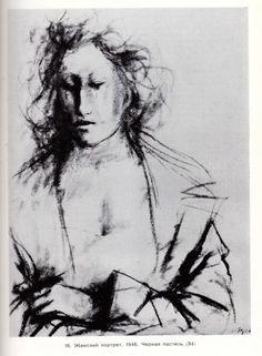 Музей рисунка - Джакомо Манцу, Giacomo Manzù (1908-1991гг).