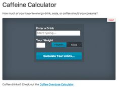 Caffeine Calculator 36 Websites That Will Change Your Entire Fucking Life Hacking Websites, Life Hacks Websites, Video Websites, Useful Life Hacks, Cool Websites, Secret Websites, Still Tasty, Answer To Life, Name Generator
