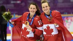Women's hockey Gold 2014