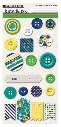 MME Kate & Co *Oxford Lane* KC1049-Buttons