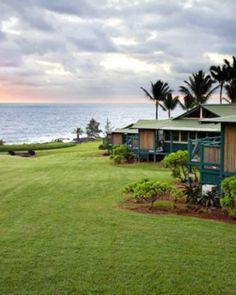 Travaasa Hana can feel like a private Hawaiian home; above is a Sea Ranch Cottage. #Jetsetter #JSSunrise