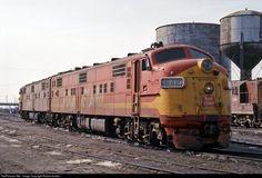 RailPictures.Net Photo: CRIP 642 Chicago, Rock Island & Pacific (Rock Island) EMD E7(A) at Blue Island, Illinois by Robert Jordan