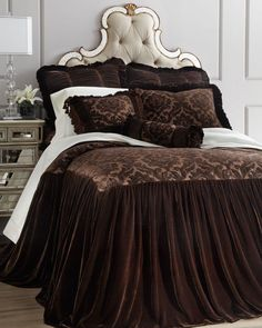 Designer Bedding Collections | luxury bedding Isabella Collection by Kathy Fielder Charlize Bed ...