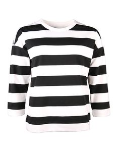 black and white striped sweatshirt | Clouds of Fashion
