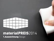 FENIX NTM winner in the Design category at materialPREIS 2014.