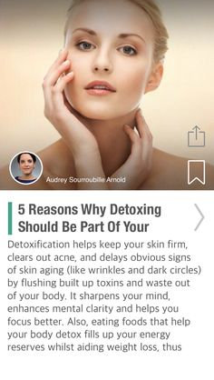 5 Reasons Why Detoxing Should Be Part Of Your Beauty Regimen - via @CureJoy