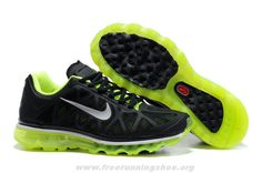 half off 38b8b 2b59c Cheap Mens 429889-007 Black Metallic Cool Grey Volt Nike Air Max Nike Free  Shoes