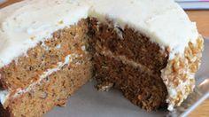 Low FODMAP, gluten free carrot cake