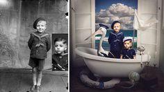Colorir fotos em preto e branco é uma excelente maneira de revisitar o passado e compreender a história. Jane Long, uma fotógrafa australiana, transformou e adicionou um pouco de magia auma coleção de imagens do artista romeno Costica Acsinte.   ...