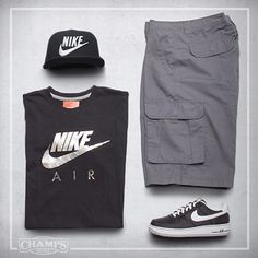 My Nike gear fo sure!! ... just need Nike red briefs & white socks. #Nike